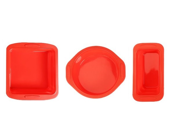 Silicone Bakeware with Rigid Frame Reinforced